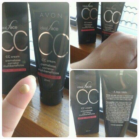 CC Cream Ideal Face Avon