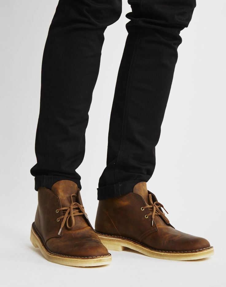 Clarks Originals Leather Desert Boot