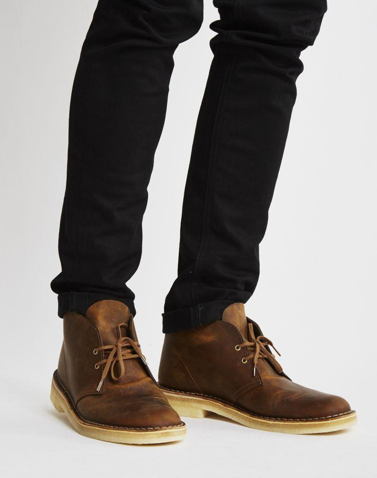 Clarks Originals Leather Desert Boot