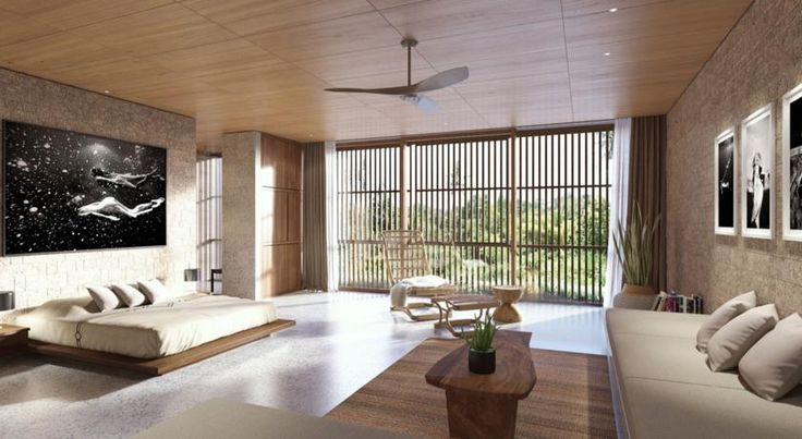 AUD180 The Slow is set in Canggu, 500 metres from Batu Bolong Beach.