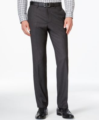 Kenneth Cole Reaction Micro Grid Slim Fit Dress Pants