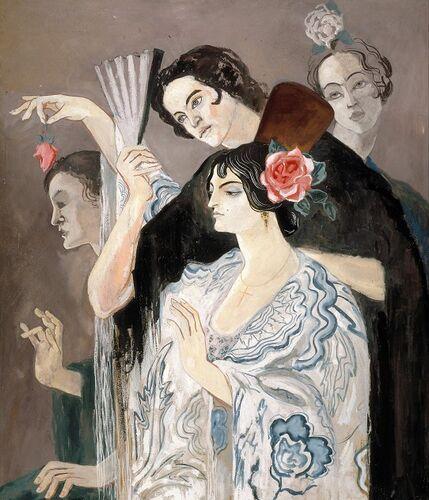kunstenaar: Francis Picabia (Parijs 1879 - Parijs 1953) materiaal en techniek: gouache op karton objectsoort: tekening afmetingen: 101 x 86 ...
