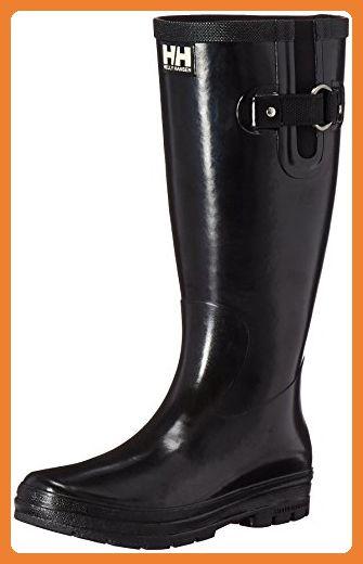 Helly Hansen Damen Veierland 2 Gummistiefel, Schwarz (Black/Black/Eggshell 990), 42 EU - Stiefel für frauen (*Partner-Link)