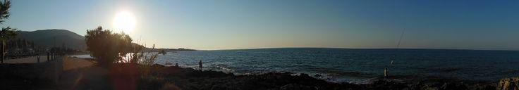 #stalis #crete sunset