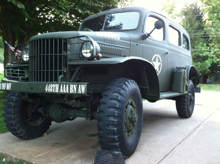 1942 DODGE WC 26 WWII MILITARY TRUCK CLEAR OHIO TITLE