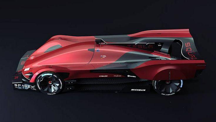 Tesla Le Mans 2030 Car Concept