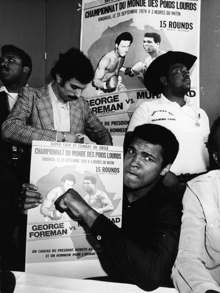 Muhammad Ali v George Foreman: the Rumble in the Jungle – in pictures