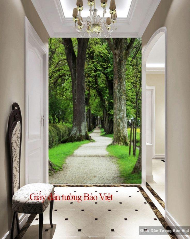 Giấy dán tường phòng khách Tr141 | Giấy dán tường Bảo Việt