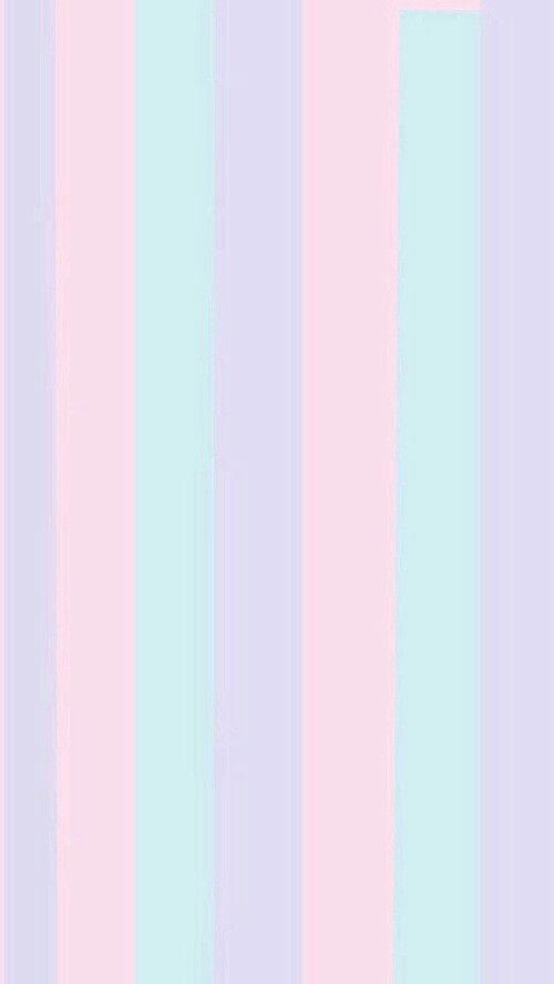 Pastel stripes pink blue purple
