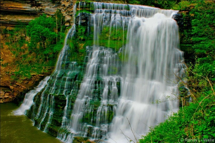 Burgess Falls Tennessee - traveled here in 2009 it's a pretty amazing fall very huge - incredible example of God's beauty
