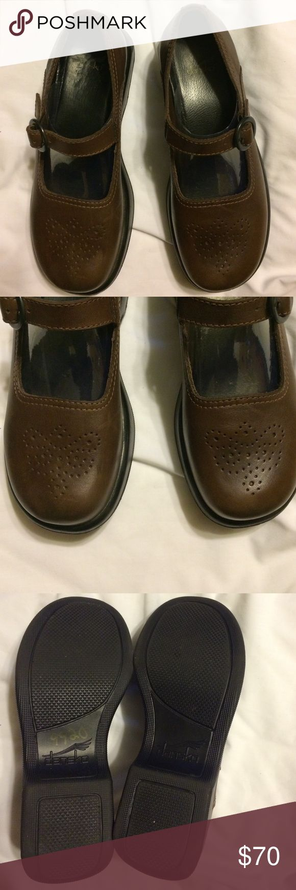 Labor Day Sale! Dansko Shoes Beautiful Dansko Mary Jane Shoes in great pre owned condition. A small scrap barely noticeable on right heel I Will post additional pictures. Thanks Dansko Shoes