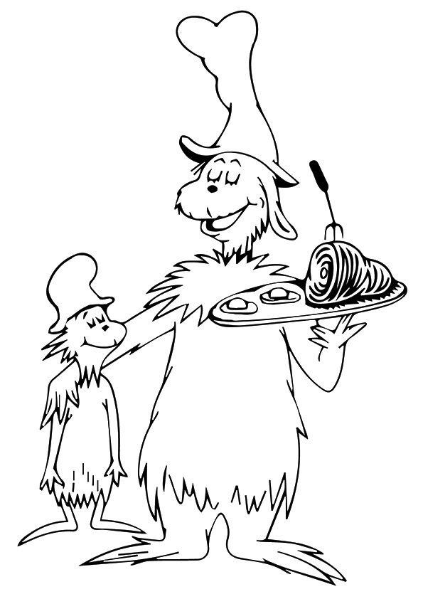 Top 20 Dr. Seuss Coloring Pages For Your Toddler