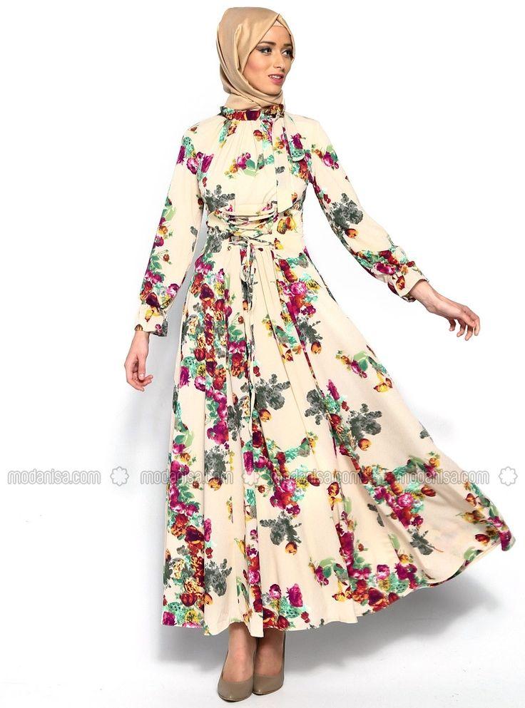 Цветок Деталь платье - Крем - Бутик Радость