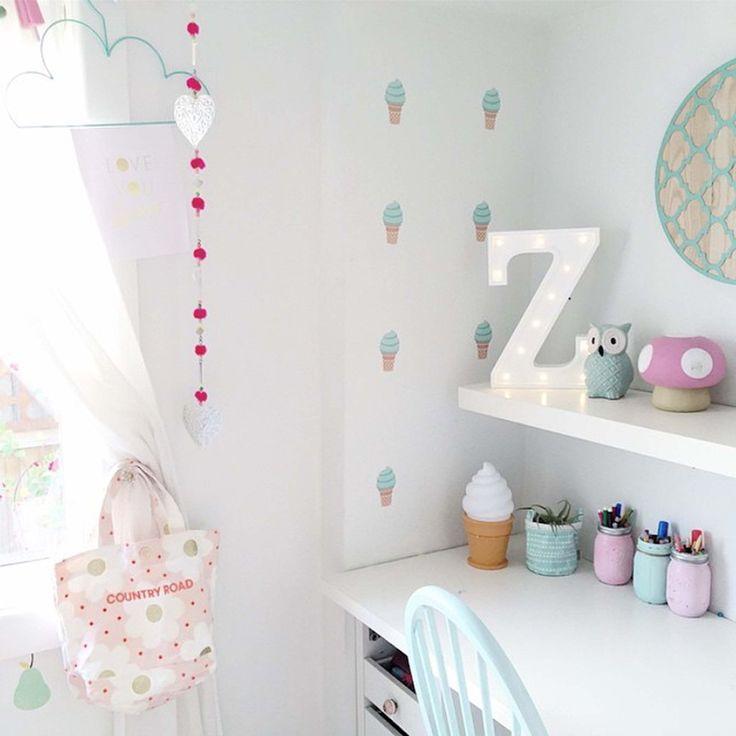 Ice Cream Wall Stickers | MINT Interior Design