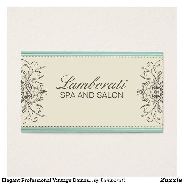 46 best art business cards images on pinterest art business cards elegant professional vintage damask art deco business card reheart Gallery