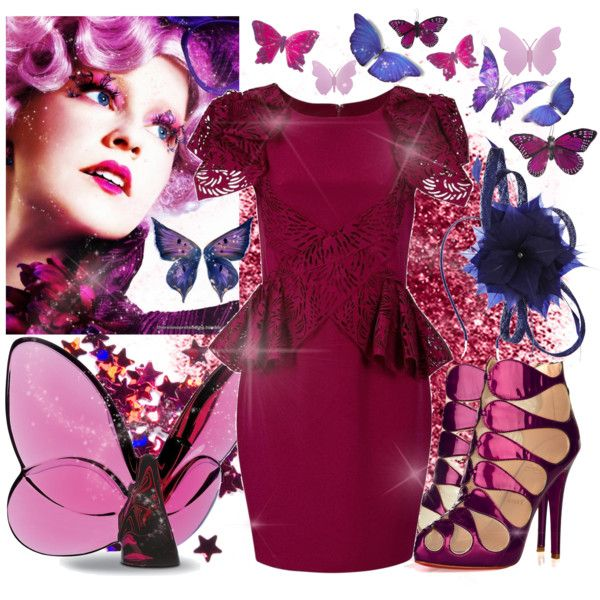 hunger games effies flutter fashion created by fashionbeccafabulous on polyvore i am so in - Halloween Fashion Games