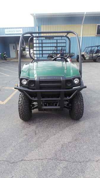 New 2017 Kawasaki Mule SX 4x4 ATVs For Sale in Arkansas. 2017 Kawasaki Mule SX 4x4, Safety Brakes - Front: Sealed Hydraulic Drum Brakes - Rear: Sealed Hydraulic Drum Specifications Bash Plate (Front) Bed Capacity (kgs.): 181.4 Bed Capacity (lbs.): 400 Bed Volume (ft3): 8.1 Bed Volume (m3): 0.2 Body Material: Plastic Cargo Bed Tilt Front Tire Diameter (in): 24 Front Tire Width: 9 Ground Clearance (in): 6.7 Ground Clearance (mm): 170.2 Height (Inches): 70 Height (mm): 1800.9 Brakes Front…