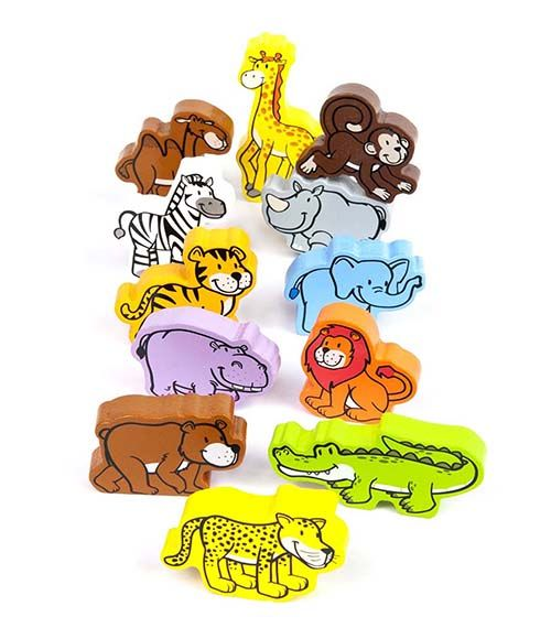 Jungle Parade From Hape from The Wooden Toybox