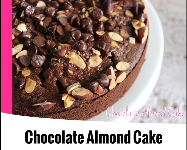 {Thermomix} Chocolate Almond Cake