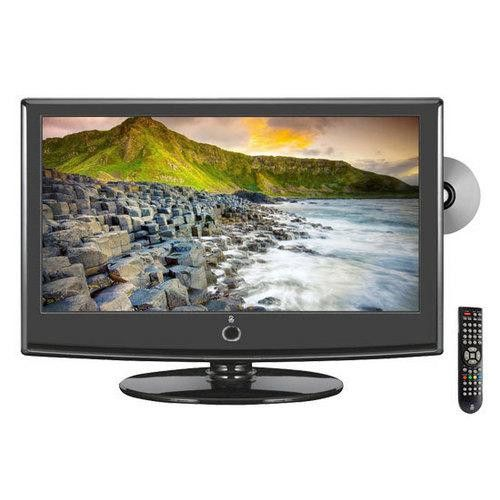 22'' Hi-Definition LCD Flat Panel TV w/ Built-In DVD Player