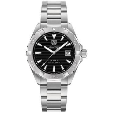 Men's TAG Heuer AQUARACER Automatic Black Dial Watch - Item 19425347   REEDS Jewelers
