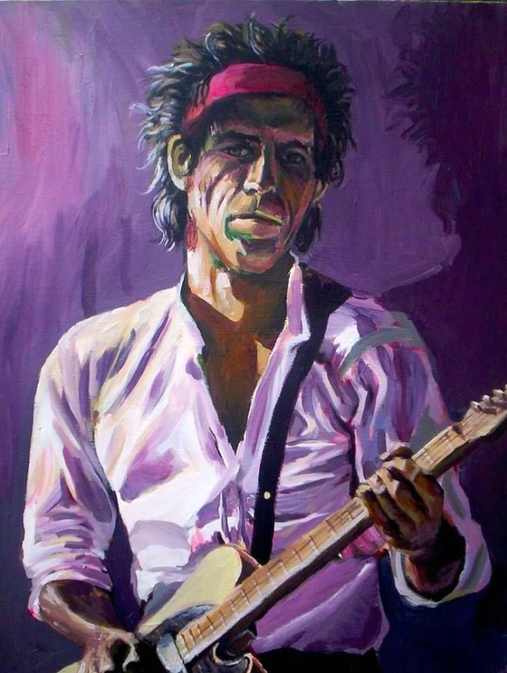 Pop Art Bilder Kaufen Keith Richards | Music | Keith Richards, Rolling Stones