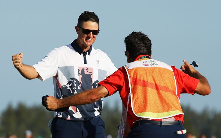 Justin Rose: Gold in the men's golf tournament (14 August)