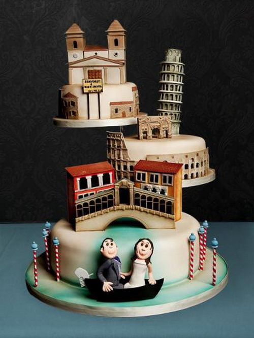 41 Best Italian Theme Cakes Images On Pinterest