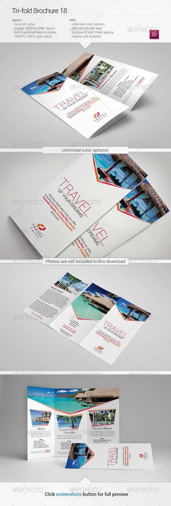Tri-Fold Brochure 18 could use with jumps in the middle
