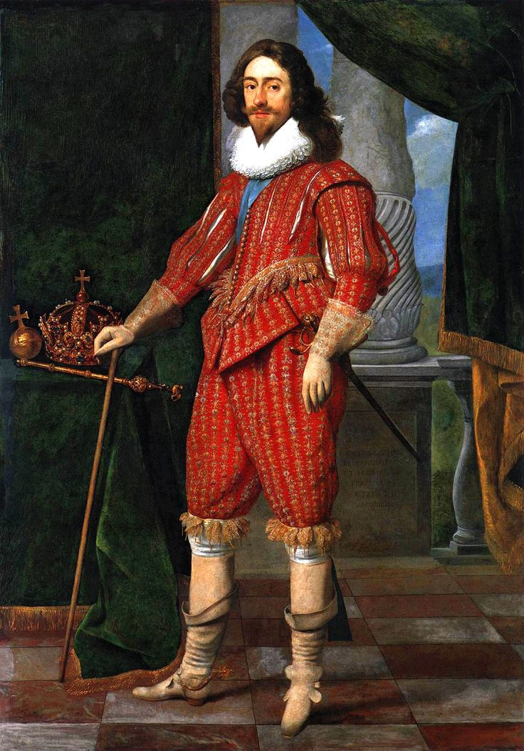 H.M. King Charles I of England and Scotland (1600-1649) by Mitjens - Charles was the second son of King James VI of Scotland, but after his father inherited the English throne in 1603, he moved to England, where he spent much of the rest of his life. He became heir apparent to the English, Irish and Scottish thrones on the death of his elder brother, Henry Frederick, Prince of Wales, in 1612.