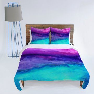 DENY Designs Jacqueline Maldonado Water Color Duvet Cover - Duvet Covers at Hayneedle