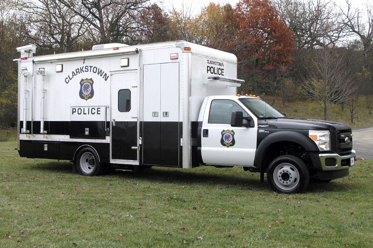 Clarkstown, NY PD Ford LDV Mobile Command Center. Police