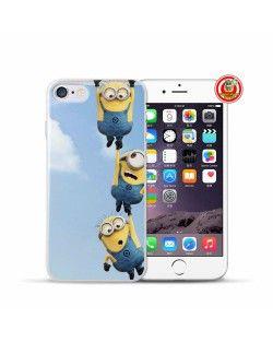 FUNDA MINION COLGADOS. Fundas Minion para iPhone 7, 7 Plus  #Minions #DespicableMe #Gru #MiVillanoFavorito #iPhone7 #iPhone7Plus #iPhoneCase #FundasiPhone #Carcasas  www.FundasiPhoneBaratas.com