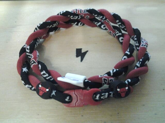 MickLiteSports.com - Phiten NBA X30 Chicago Bulls/Black Tornado Necklace Custom, $50.00 (http://www.micklitesports.com/phiten/necklaces/tornado-nba/phiten-nba-x30-chicago-bulls-black-tornado-necklace-custom/)