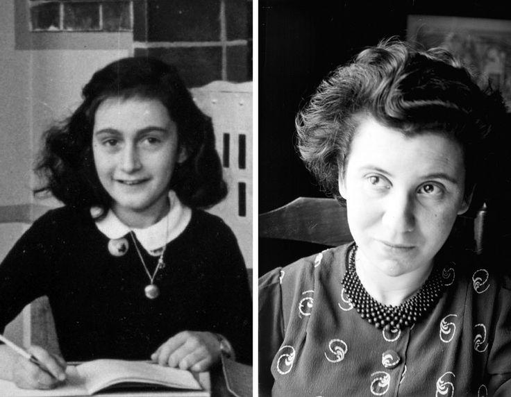 Anna Frank ed Etty Hillesum