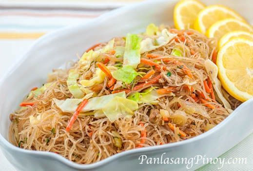 Chicken Pancit Medley is an easy chicken pancit recipe that I made using 2 types of noodles: bihon (also known as rice sticks) and sotanghon (also called green bean thread). This dish is quick and easy to make and it is also budget-friendly.
