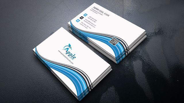 Professional Business Card Design Tutorial In Photoshop Cc Apple Graphic S Business Card Design Professional Business Card Design Professional Business Cards