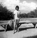 Linda Ronstadt, age 11