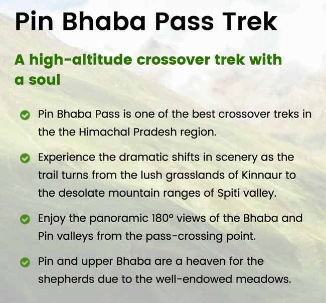Photos of Pin Bhaba Pass – A challenging high-altitude crossover trek 4/5 by…