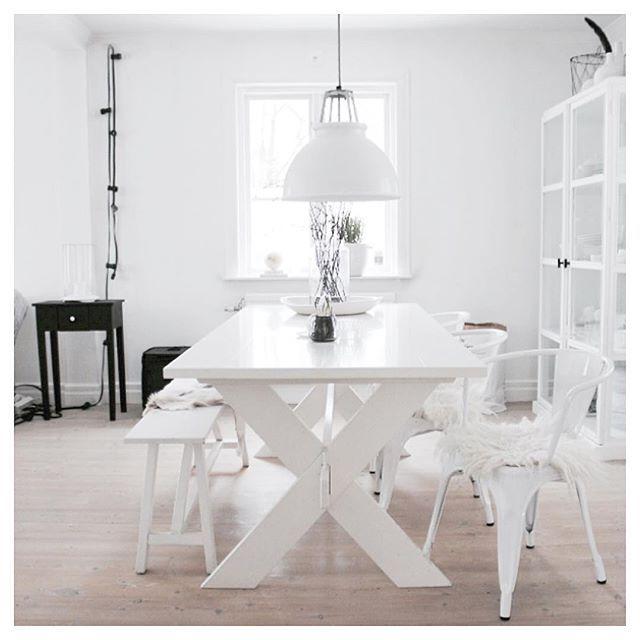 H o m e | My p l a c e  Picture from My Livingroom ...   #interiør #interior #inredning #myplace #TineK #Tolix#btc#Hubsch#whiteinterior #White#vitt#inspiration#interior4all #ceinneute