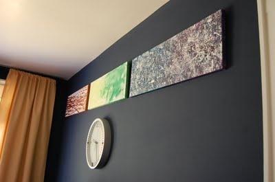 Family art: Diy Families, Modern Art, Rainbows Colors, Families Art Projects, Families Activities, Families Modern, Rainbow Colors, Painting, Family Art Projects