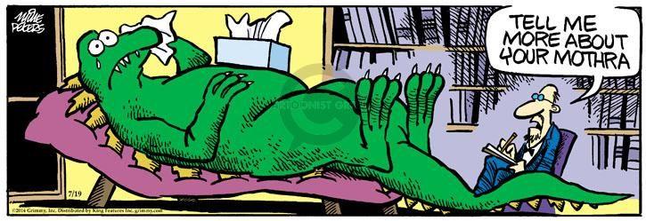 The Godzilla Comic Strips   The Comic Strips