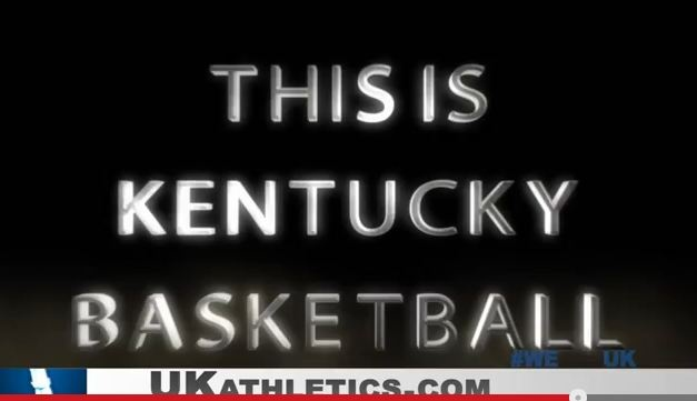 """Kentucky Wildcats New Introduction Video """" The Next Moment""""...Gives me chills!"""