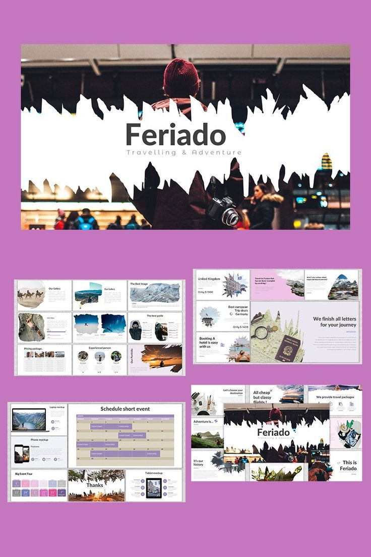 Feriado Keynote Template 91584 in 2020 Hair videos