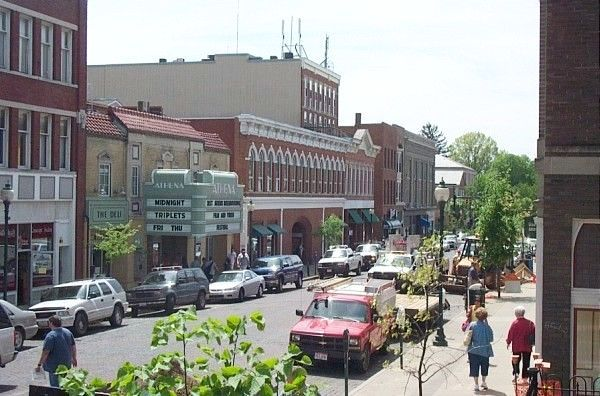 Court Street Athens, Ohio