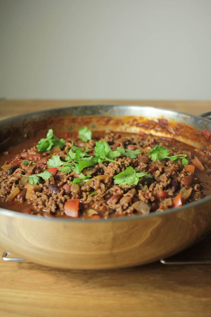 For all the chocolate lovers out there. You must try this this chocolate chilli con carne!