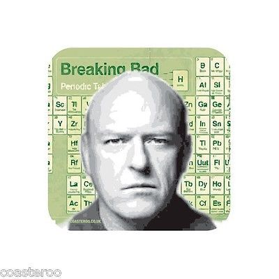"""""""hank #schrader"""" breaking bad periodic table #design bar mat / hardboard #coast,  View more on the LINK: http://www.zeppy.io/product/gb/2/371761924477/"""