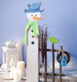 Weihnachtliche Holzpfosten | TOPP Bastelbücher online kaufen