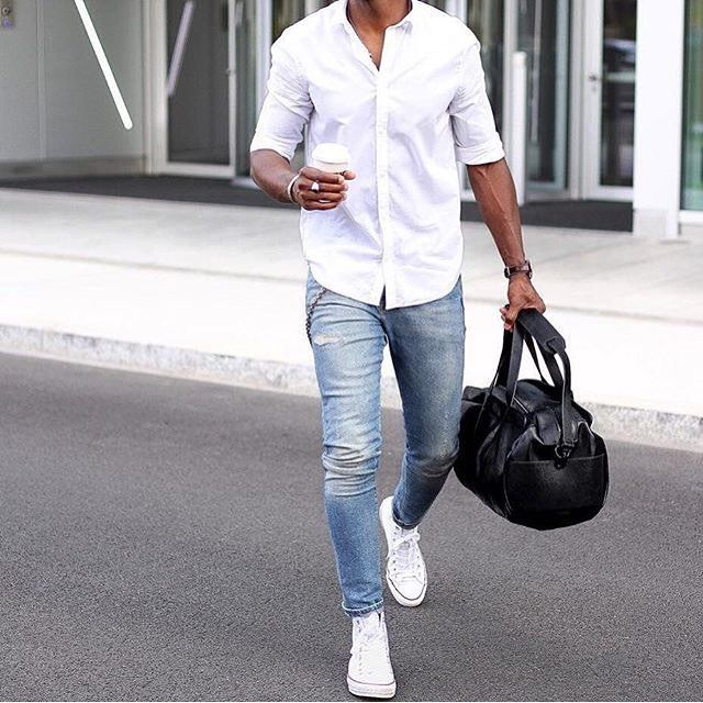 25 best ideas about white shirt men on pinterest mens for White shirt outfit mens