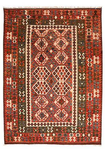 kilim - Kilim Afegão 240x179 cm.